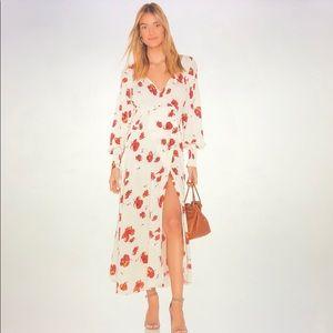 NWT Free People So Sweetly Midi Dress